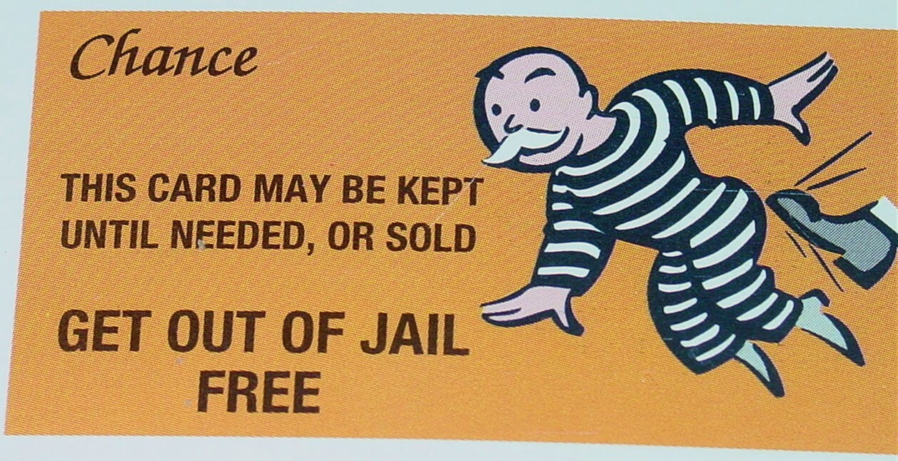 Monopoly Get Out Of Jail Free Card Template ] - Monopoly Get Throughout Get Out Of Jail Free Card Template