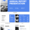 Non Profit Annual Report Presentation Template for Non Profit Annual Report Template