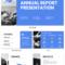 Non Profit Annual Report Presentation Template With Regard To Nonprofit Annual Report Template