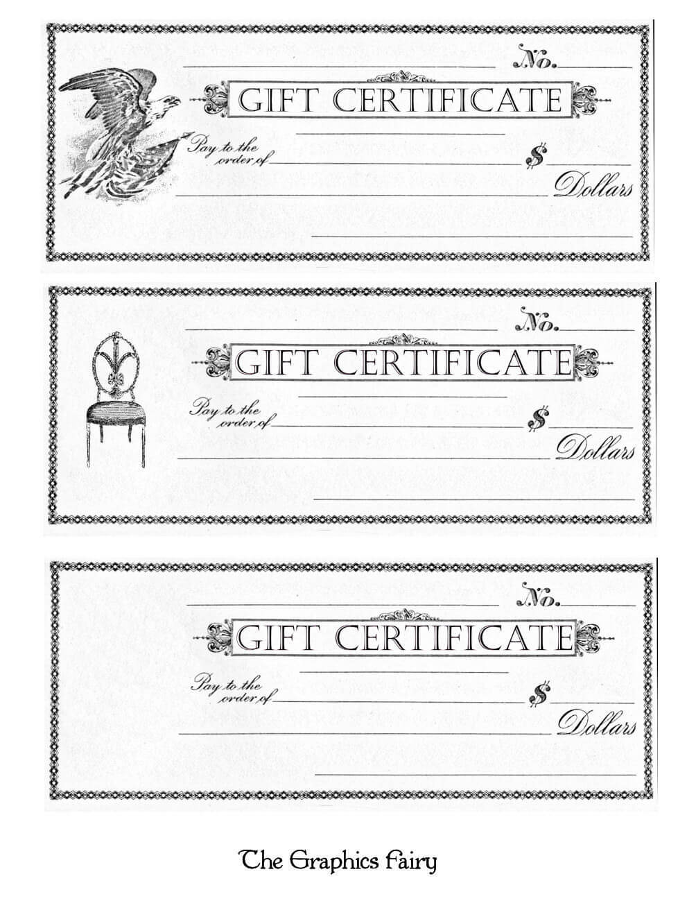 Online Gift Certificate Maker Elegant Free Printable Gift With Black And White Gift Certificate Template Free