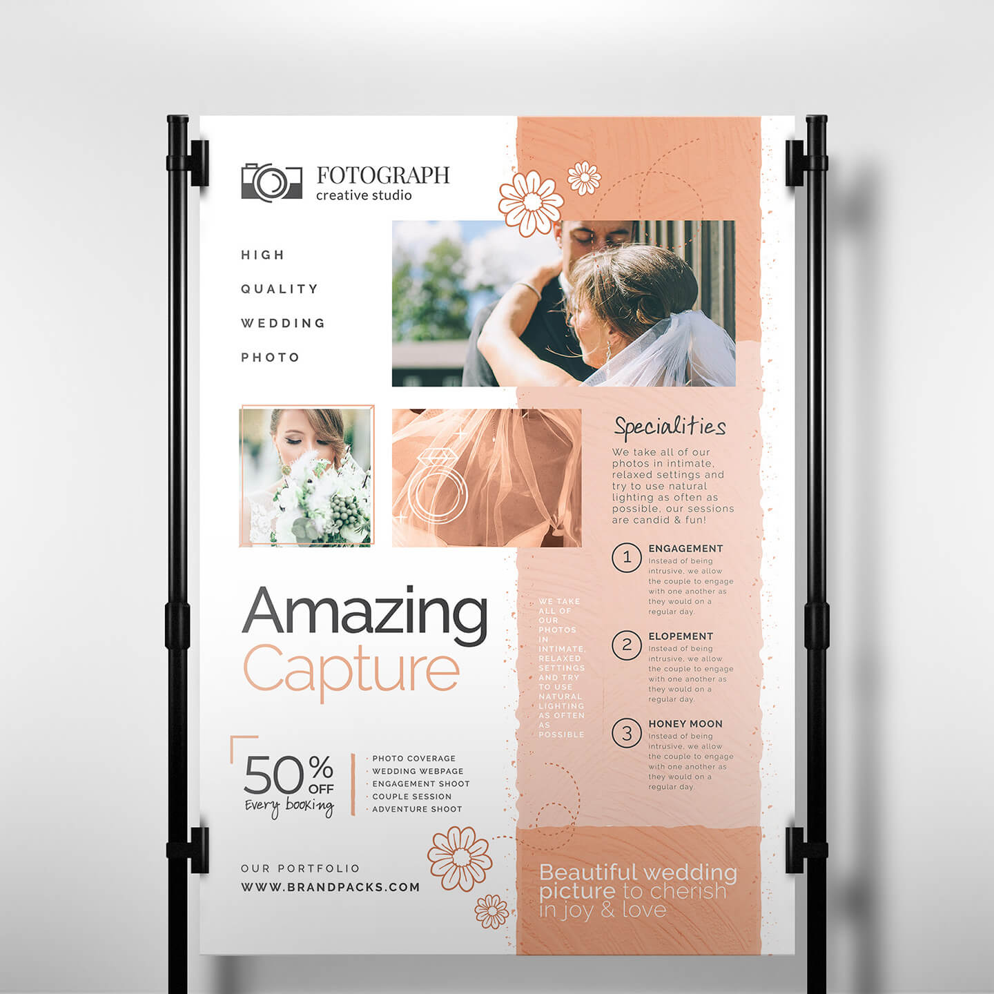Photography Service Banner Template - Psd, Ai & Vector In Photography Banner Template