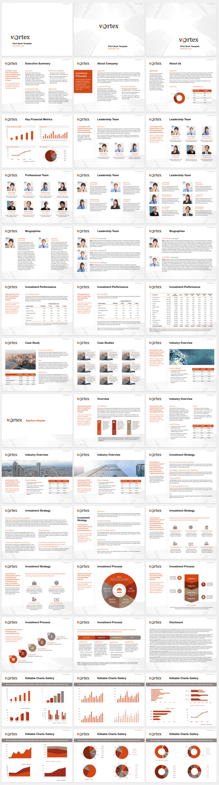 Pitch Book Template Example For Investment Banking Pitch Pertaining To Powerpoint Pitch Book Template