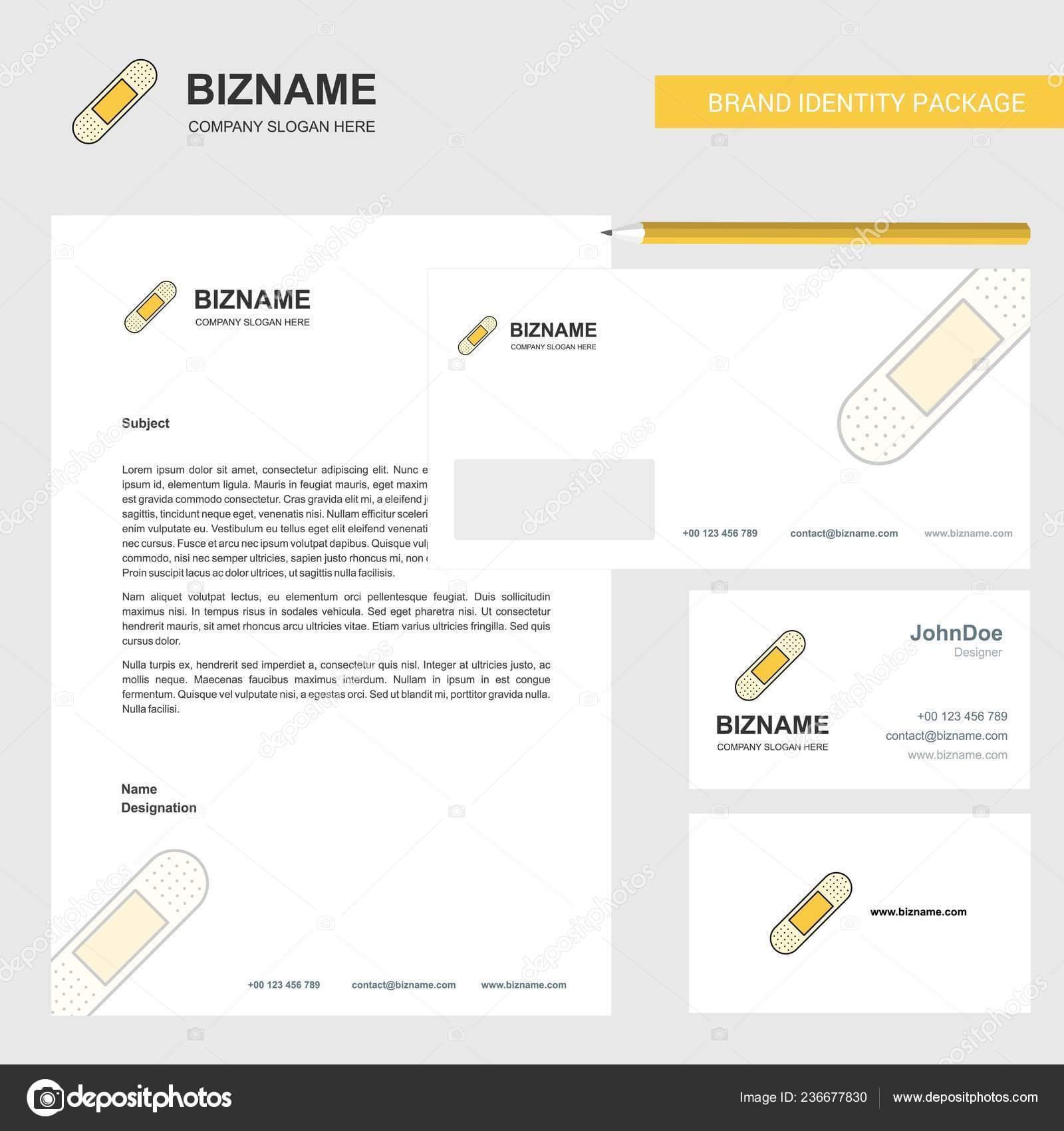Plaster Business Letterhead Envelope Visiting Card Design Within Plastering Business Cards Templates