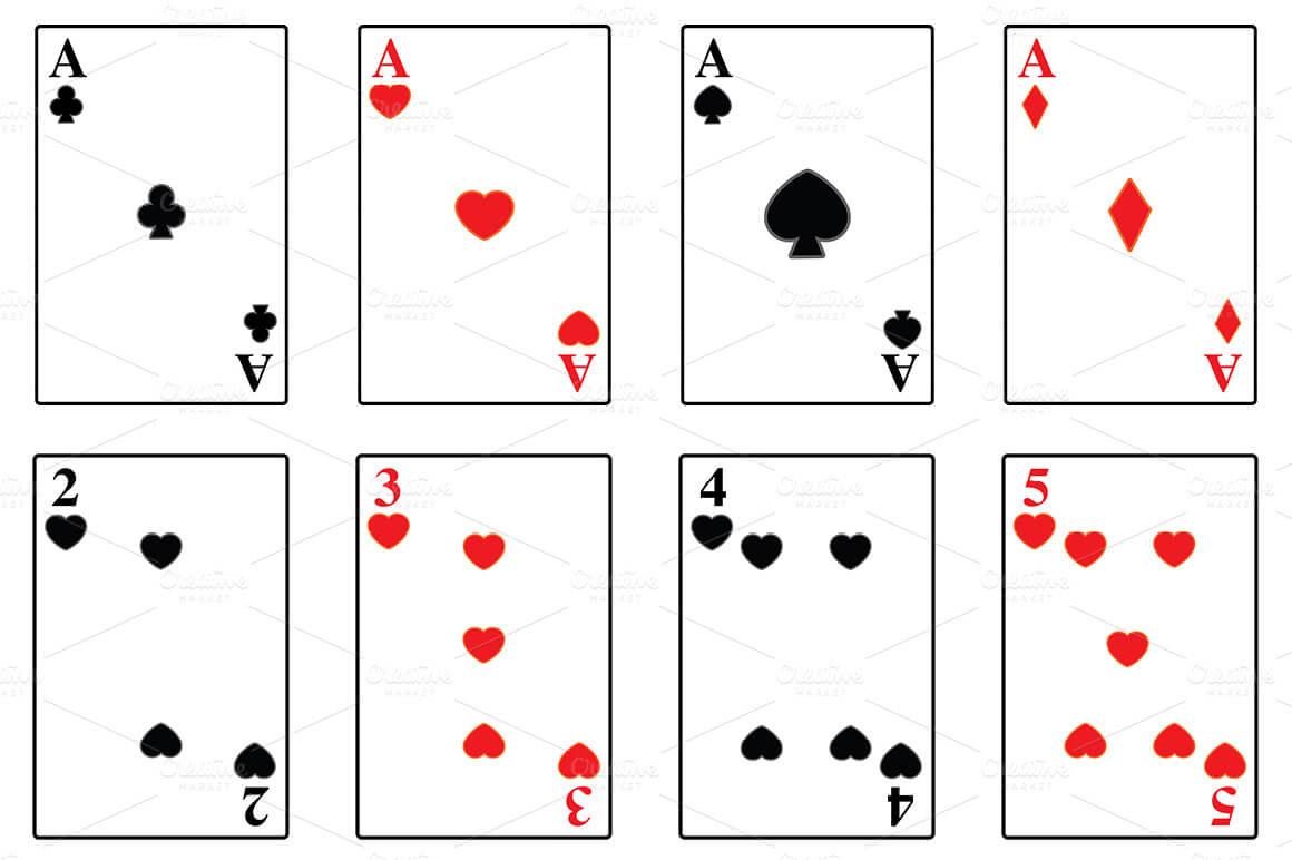 Playing Card Templates ] – 15 Playing Card Box Templates Intended For Playing Card Template Illustrator