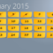 Powerpoint Calendar: The Perfect Start For 2015 With Regard To Powerpoint Calendar Template 2015
