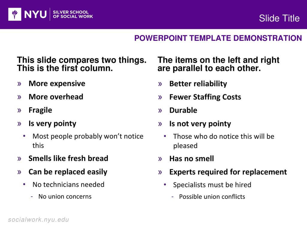 Powerpoint Template Demonstration - Ppt Download With Nyu Powerpoint Template