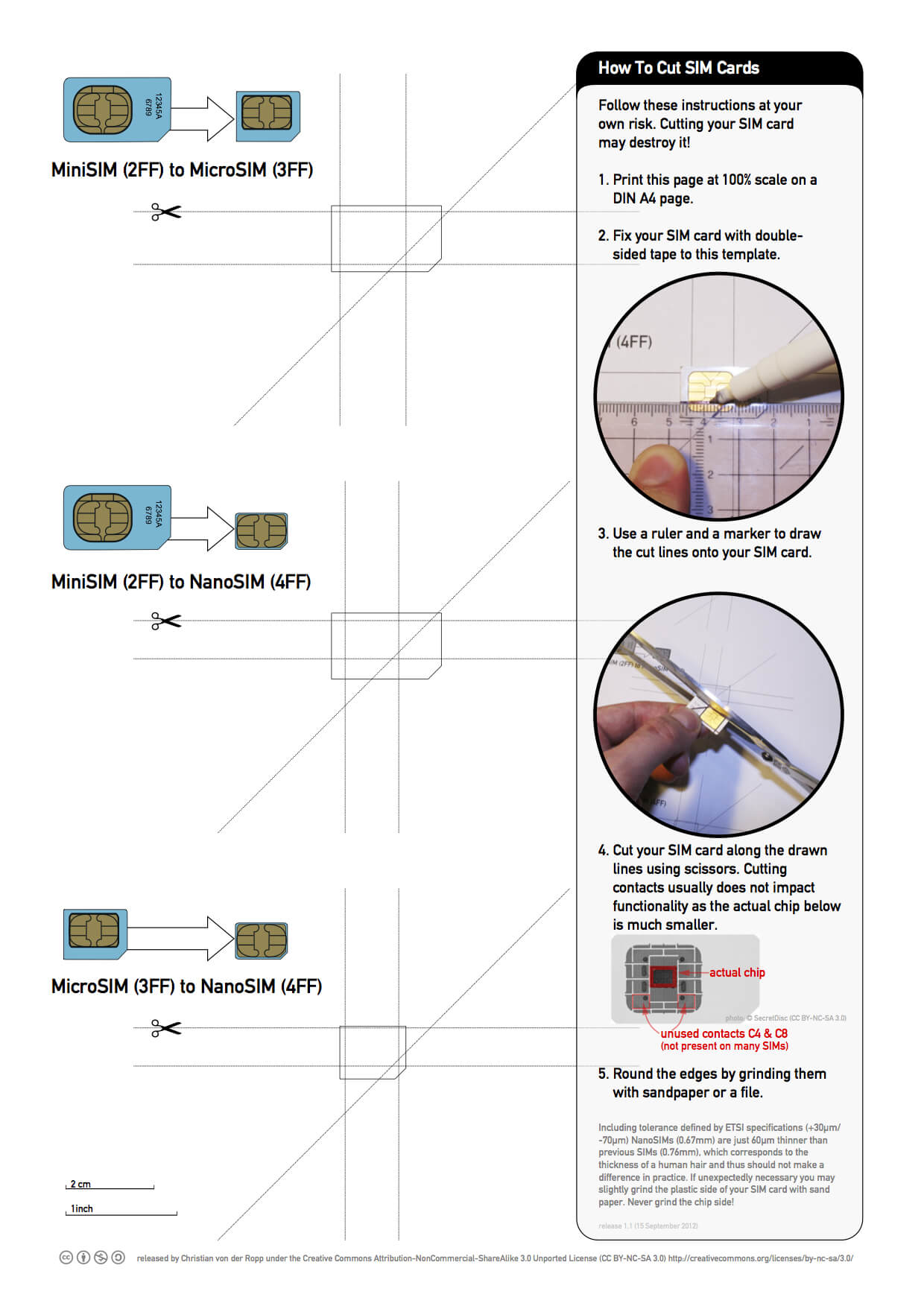 Printable Nano Sim And Micro Sim Cutting Guide [Download Pertaining To Sim Card Cutter Template