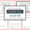 Printable Thank You Cards For Kids – The Kitchen Table Classroom Inside Free Templates For Cards Print