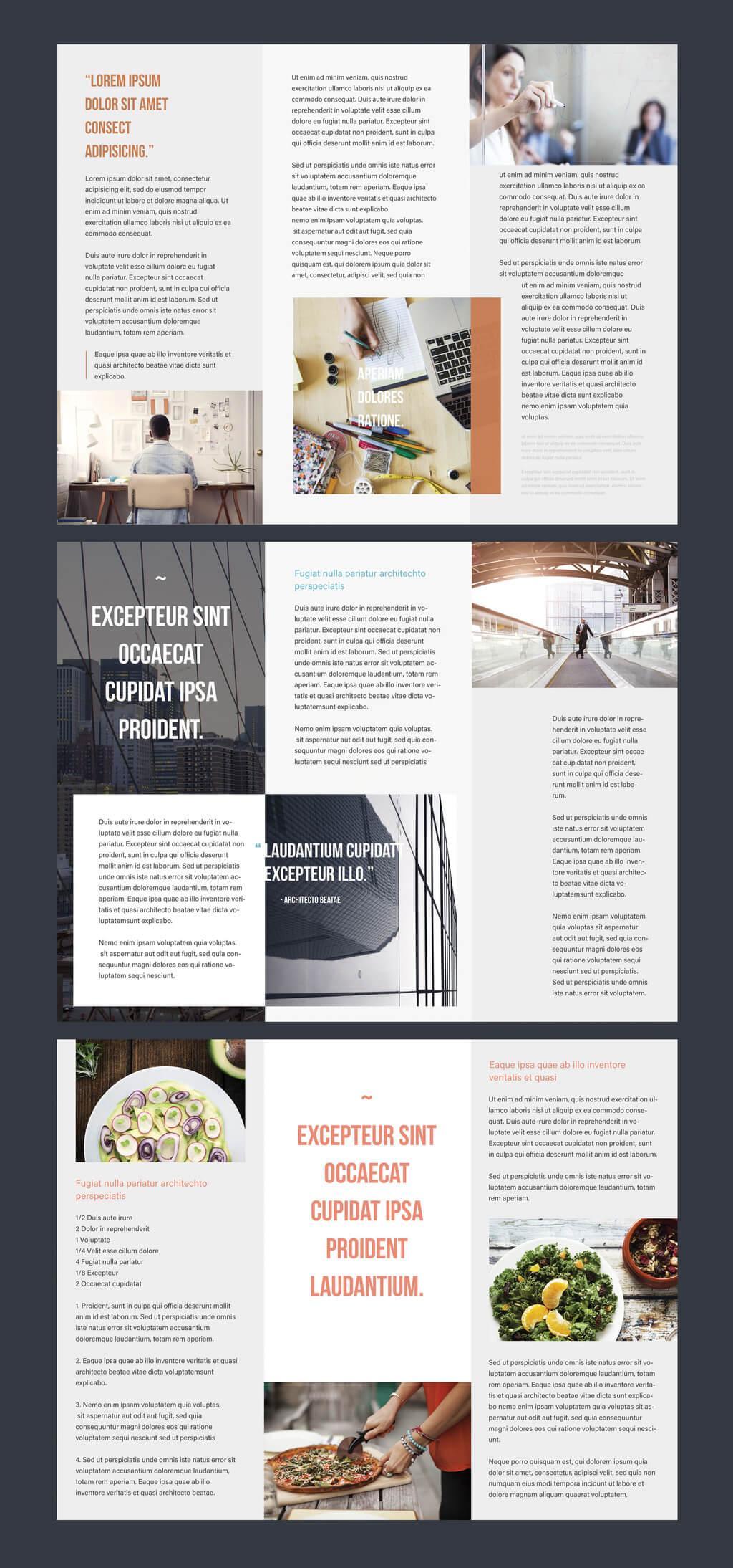 Professional Brochure Templates   Adobe Blog For Adobe Illustrator Brochure Templates Free Download