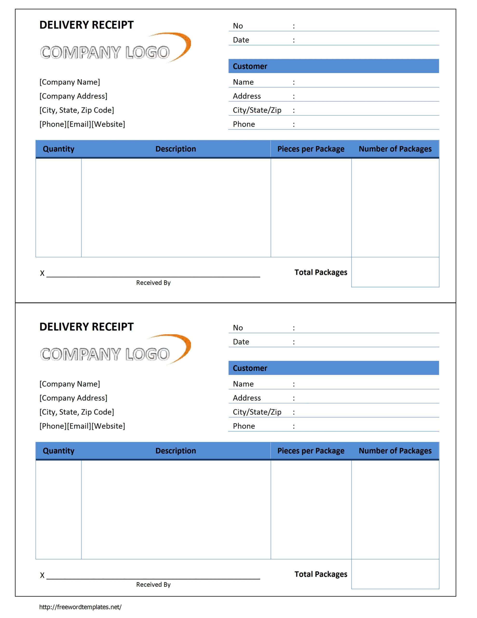 Receipts Template Word ] - Click On The Download Button To With Regard To Proof Of Delivery Template Word