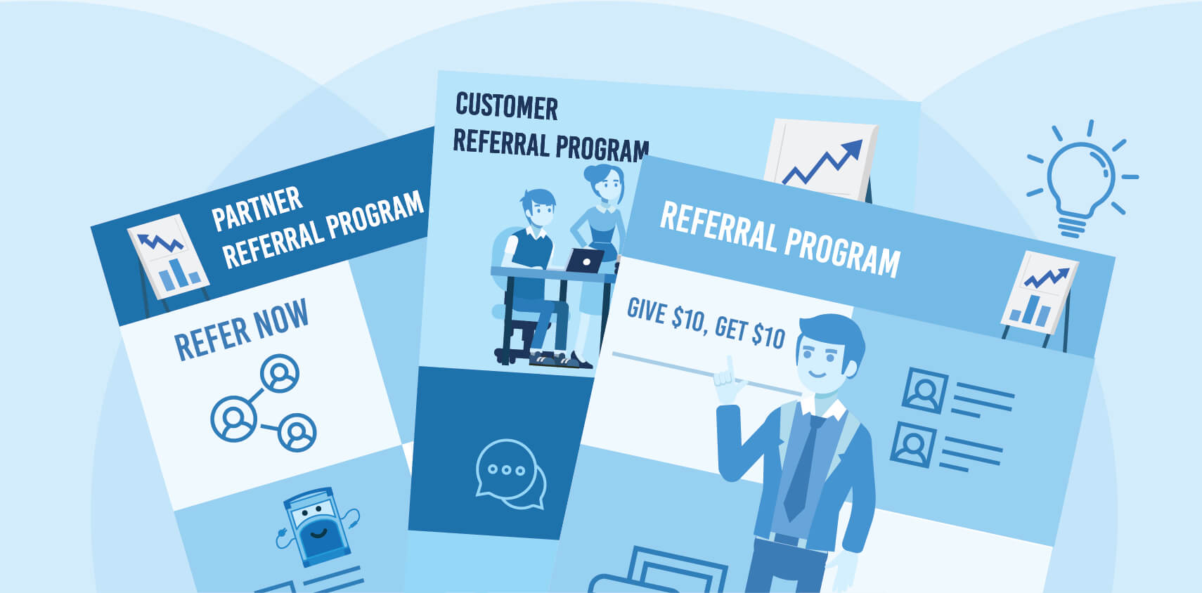 Referral Program Template - A Blueprint For Killer Conversions With Regard To Referral Card Template