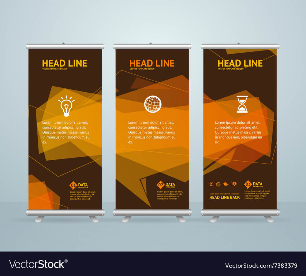 Roll Up Banner Stand Design Template With Regard To Banner Stand Design Templates
