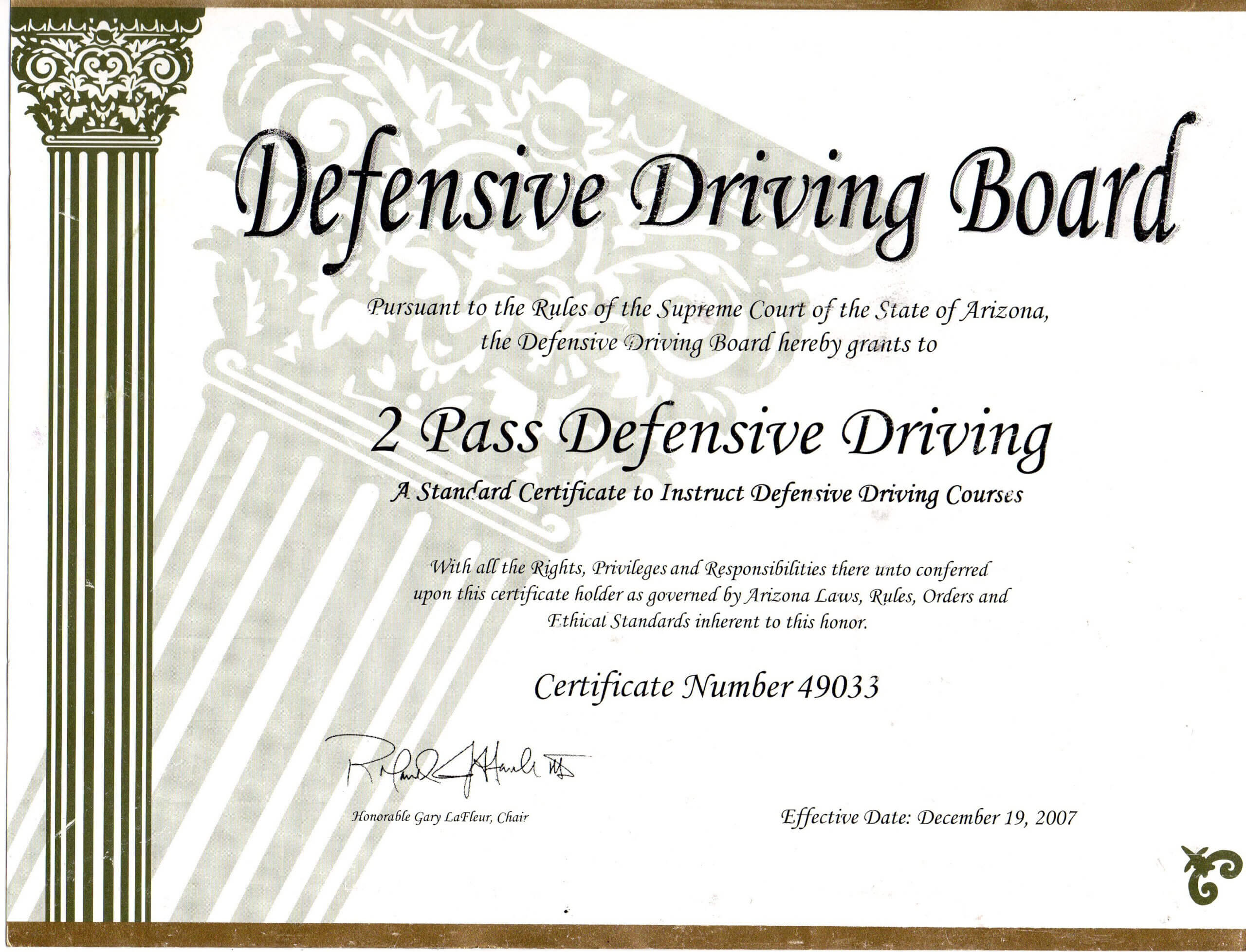 Safe Driving Certificate Template ] - Some Appreciation In Safe Driving Certificate Template