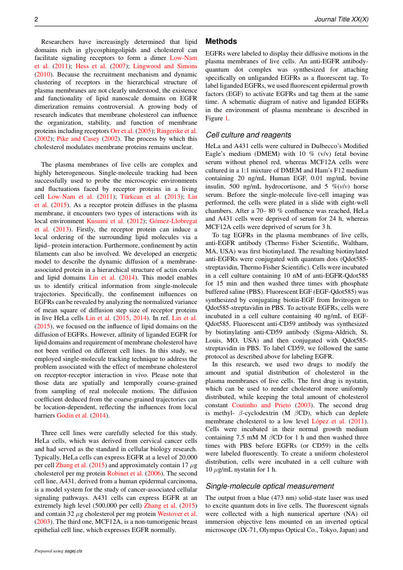 Sage - Sage Open Template Within Academic Journal Template Word