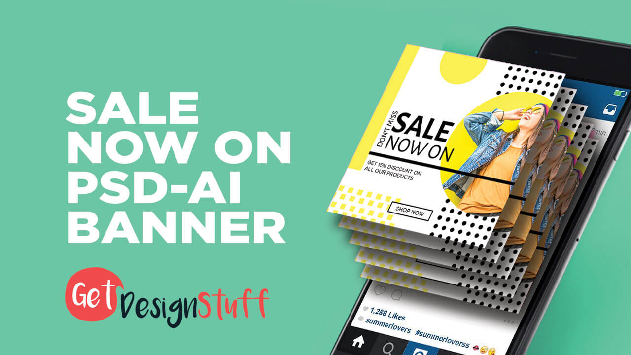 Sale Now On Illustrator Cs6 Psd Banner With Adobe Photoshop Banner Templates
