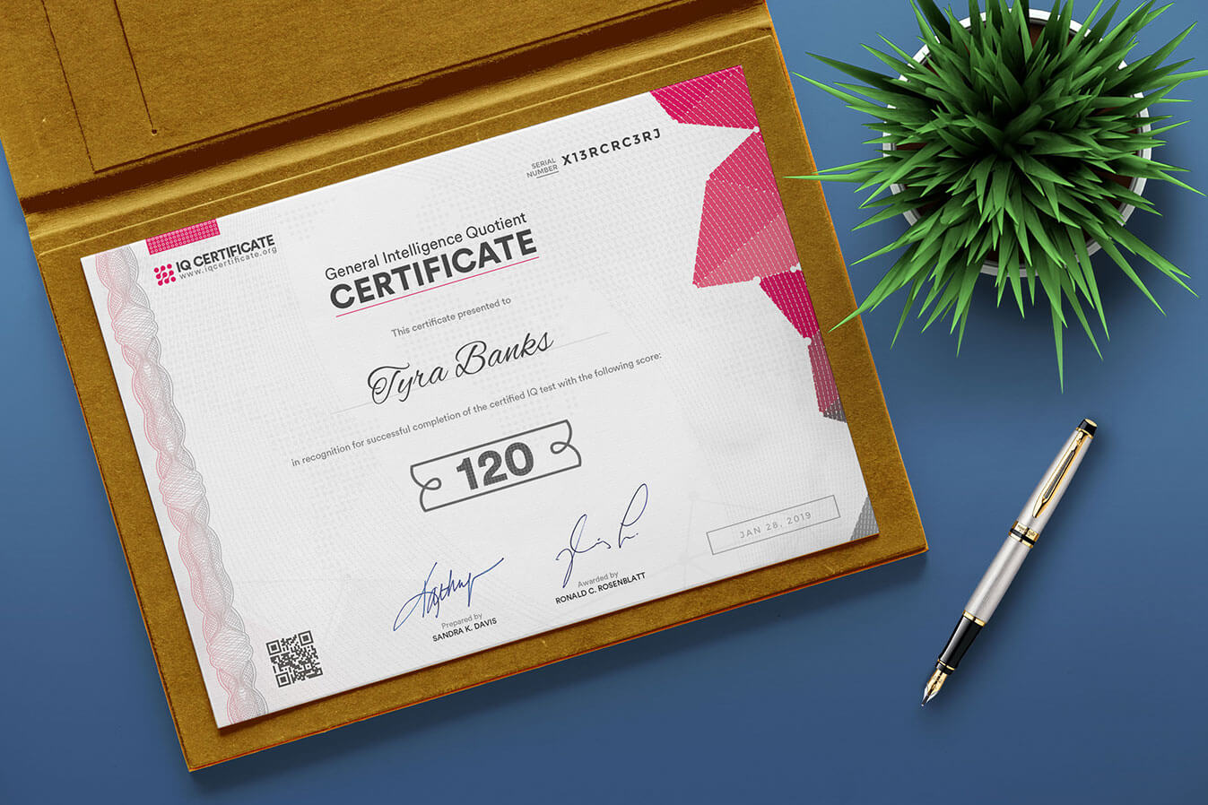 Sample Iq Certificate - Get Your Iq Certificate! Throughout Iq Certificate Template