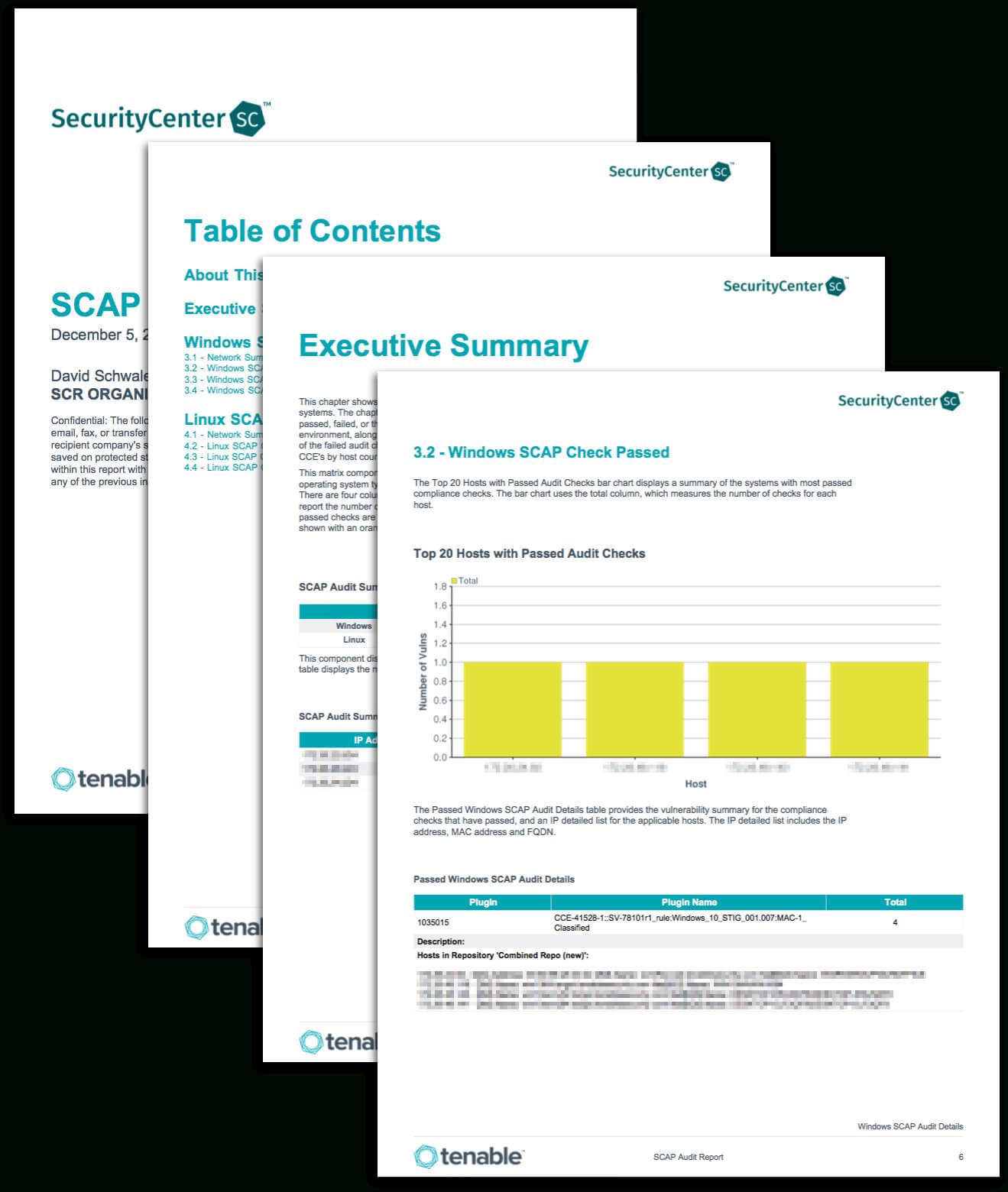 Scap Audit Report - Sc Report Template | Tenable® Pertaining To Security Audit Report Template