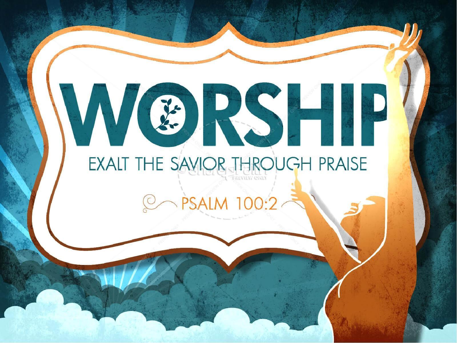 Sharefaith: Church Websites, Church Graphics, Sunday School With Praise And Worship Powerpoint Templates