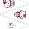 Simple Cute Hello Kitty Free Printable Kit. - Oh My Fiesta with Hello Kitty Banner Template