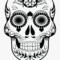 Skull Clipart Candy – Blank Sugar Skull Outline For Blank Sugar Skull Template