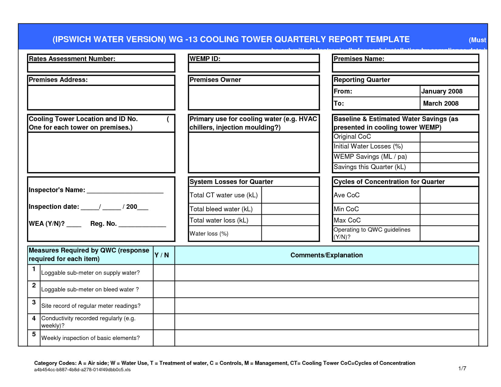 Small Business Excel Report Template With Regard To Quarterly Report Template Small Business
