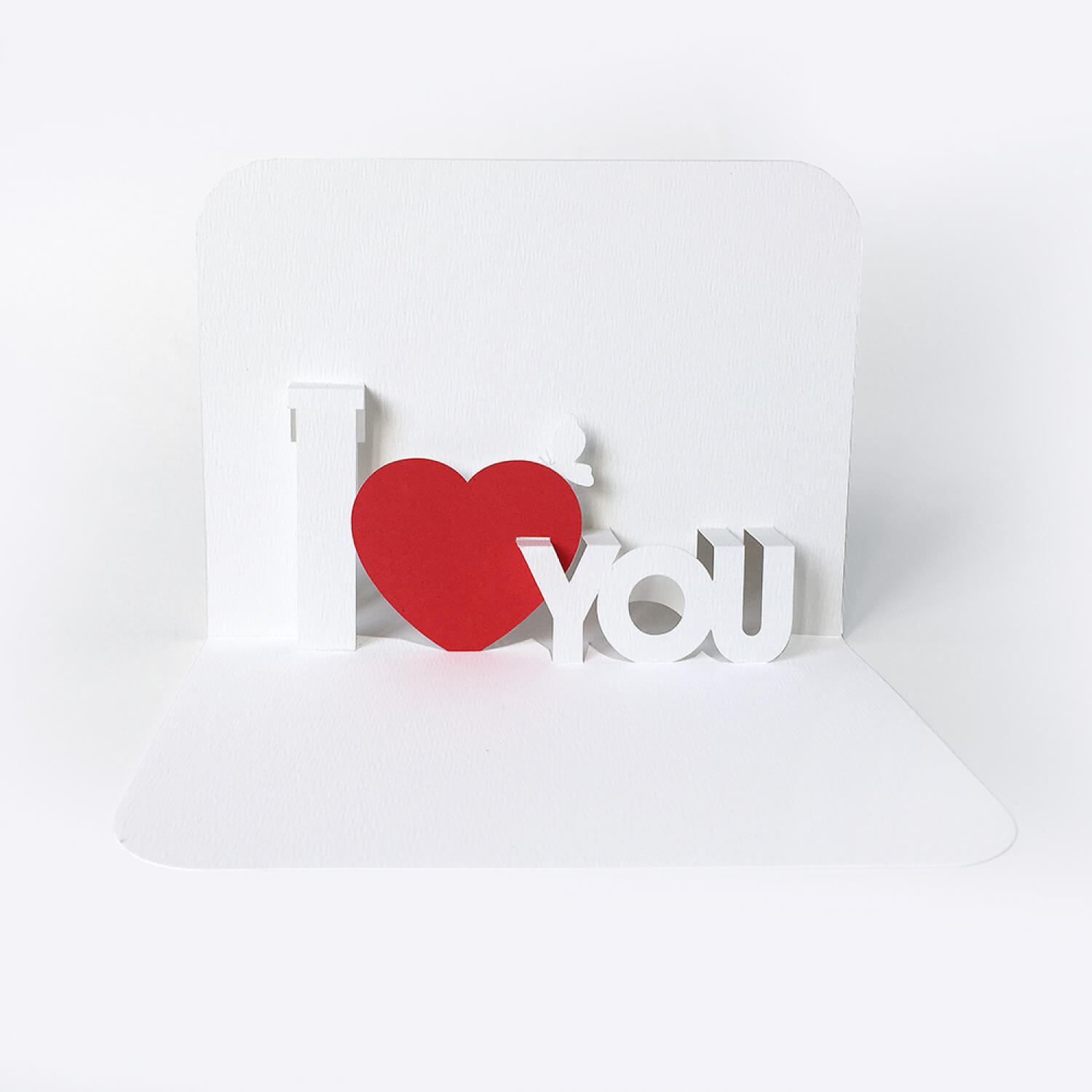 Template Pop Up Card «I Love You» With I Love You Pop Up Card Template