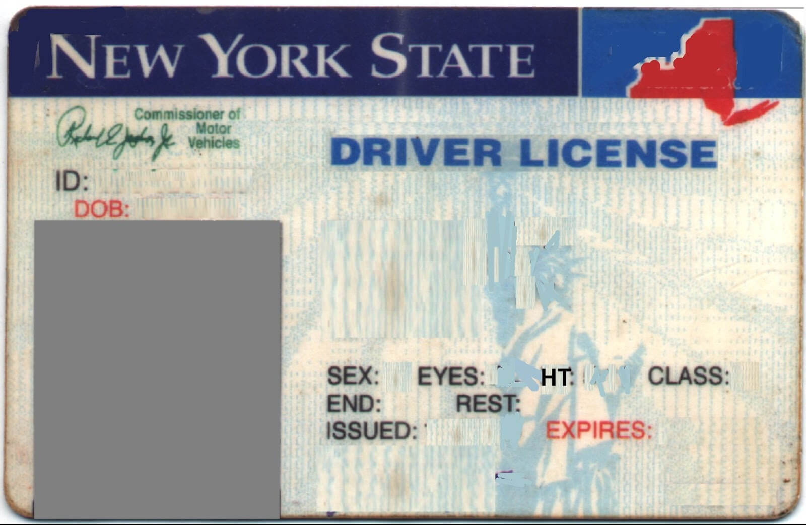 Texas Temporary Paper Driver License Template Photoshop With Regard To Texas Id Card Template