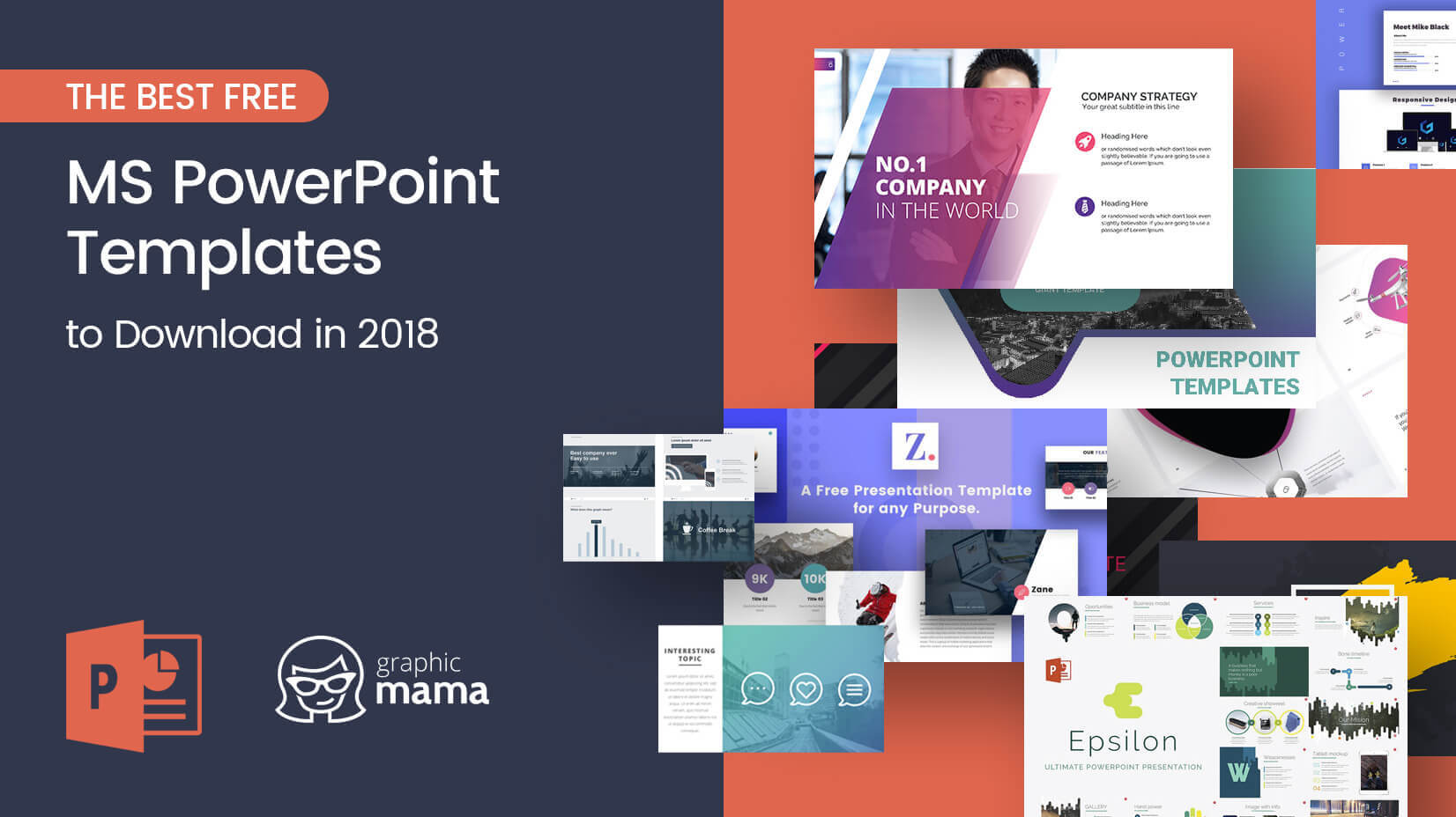The Best Free Powerpoint Templates To Download In 2018 Throughout Powerpoint Slides Design Templates For Free