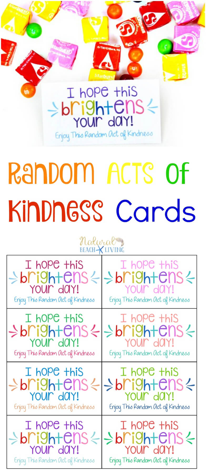 The Best Random Acts Of Kindness Printable Cards Free Throughout Random Acts Of Kindness Cards Templates