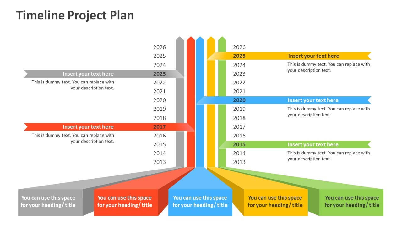 Timeline Project Plan (2) With Project Schedule Template Powerpoint