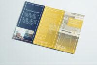Tri Fold Brochure | Free Indesign Template inside Adobe Indesign Tri Fold Brochure Template