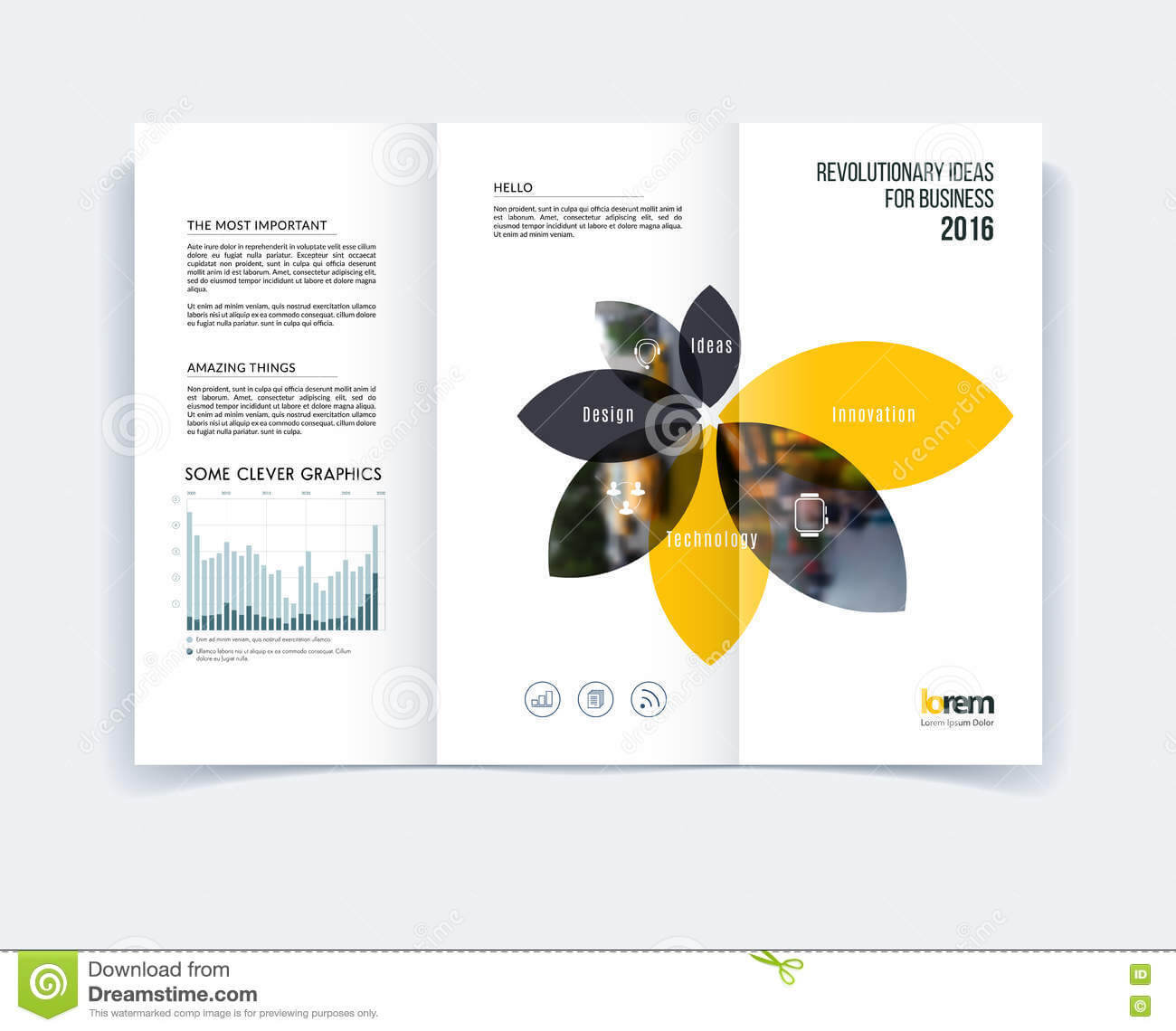 Tri Fold Brochure Template Layout, Cover Design, Flyer In A4 Regarding Engineering Brochure Templates Free Download