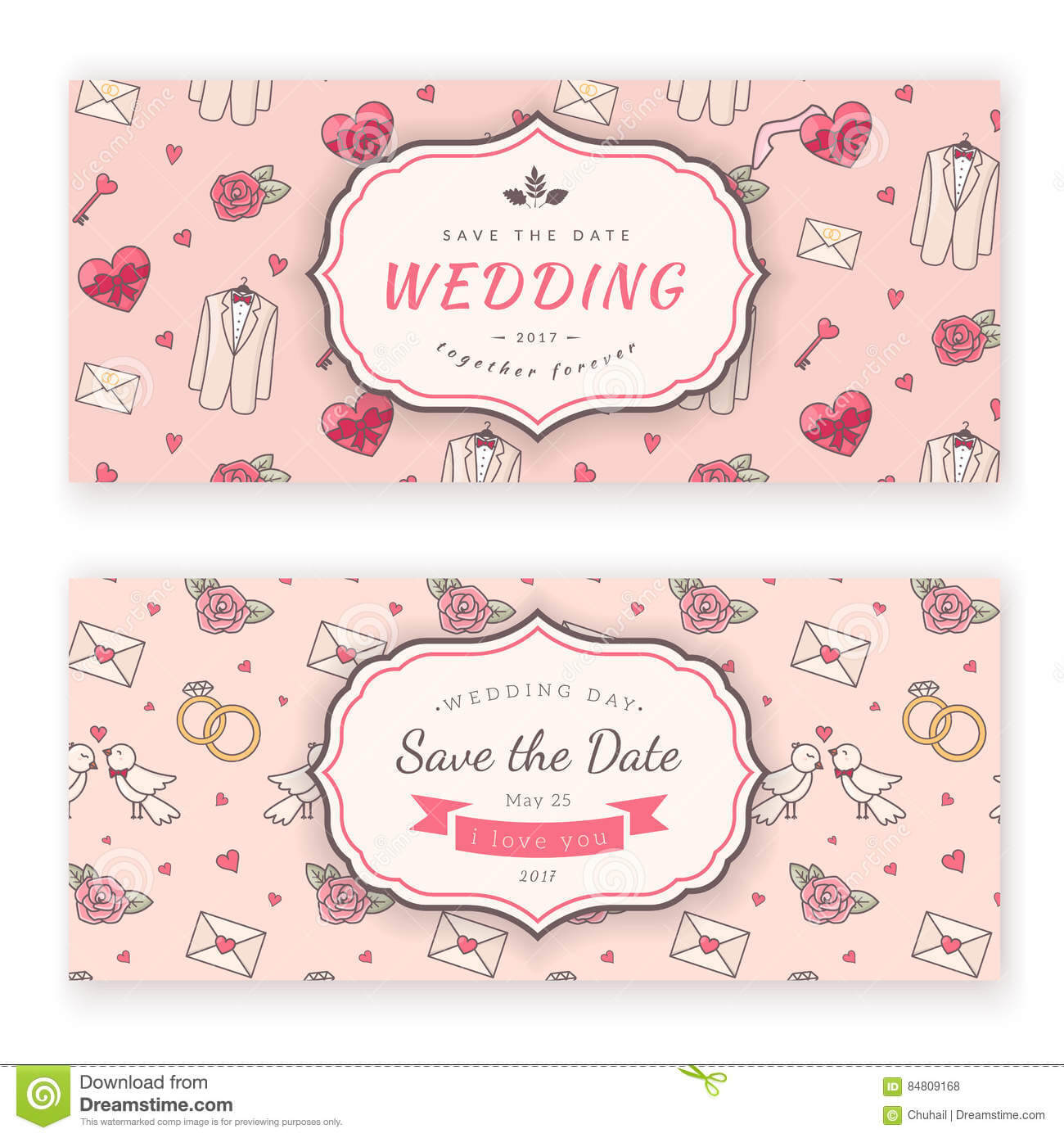 Wedding Banner Template. Stock Vector. Illustration Of In Wedding Banner Design Templates