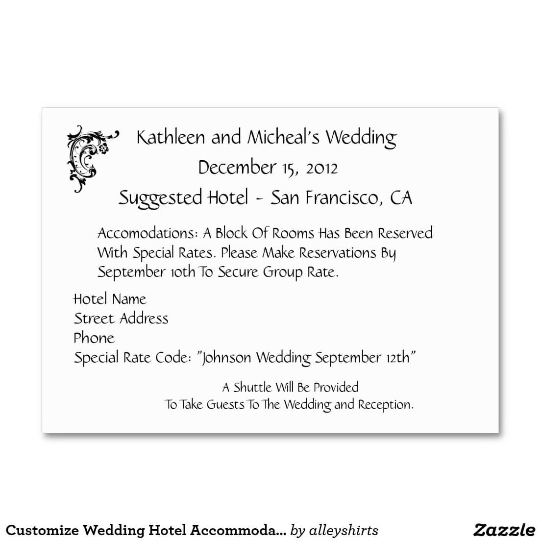 Wedding Hotel Information Card Template ] – Wedding With Wedding Hotel Information Card Template