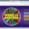 Wheel Of Fortune For Powerpoint – Gamestim With Regard To Wheel Of Fortune Powerpoint Template
