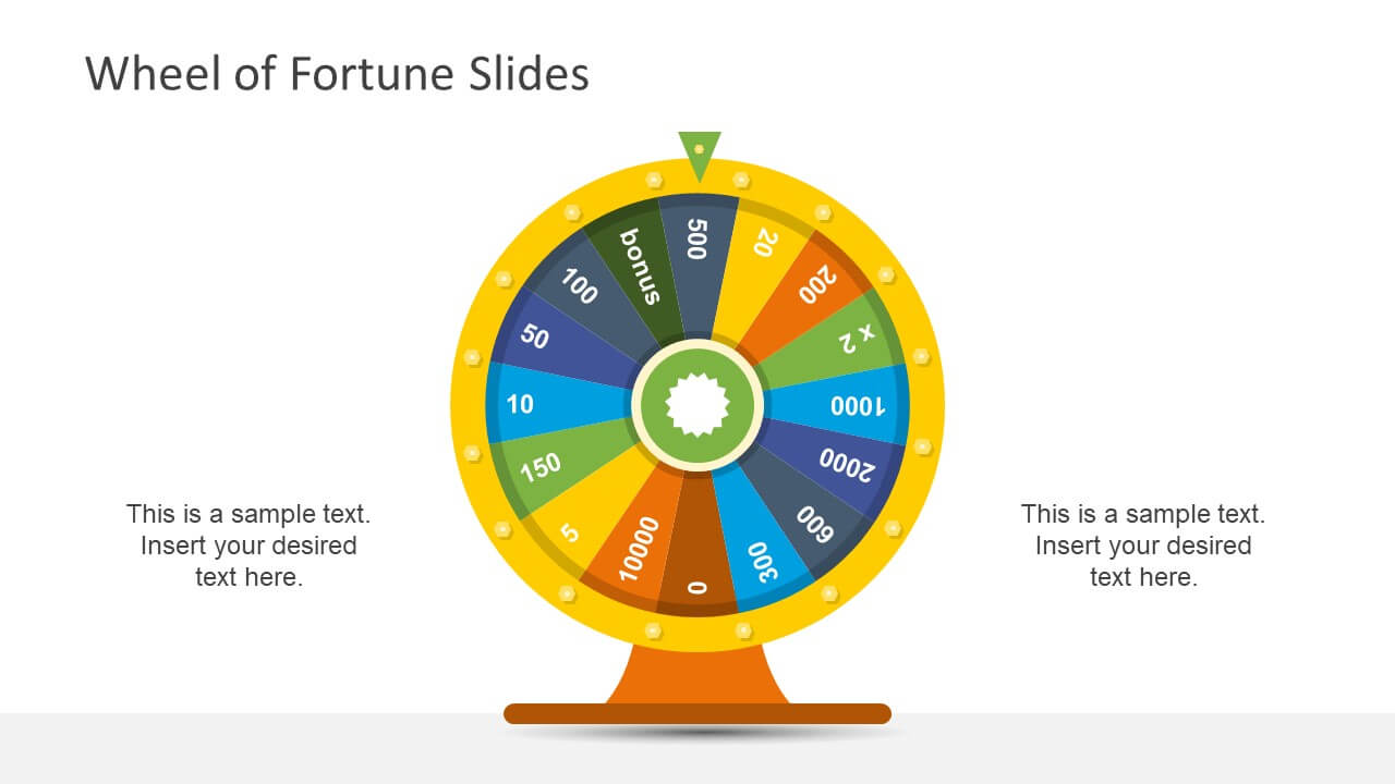 Wheel Of Fortune Powerpoint Template With Regard To Wheel Of Fortune Powerpoint Template