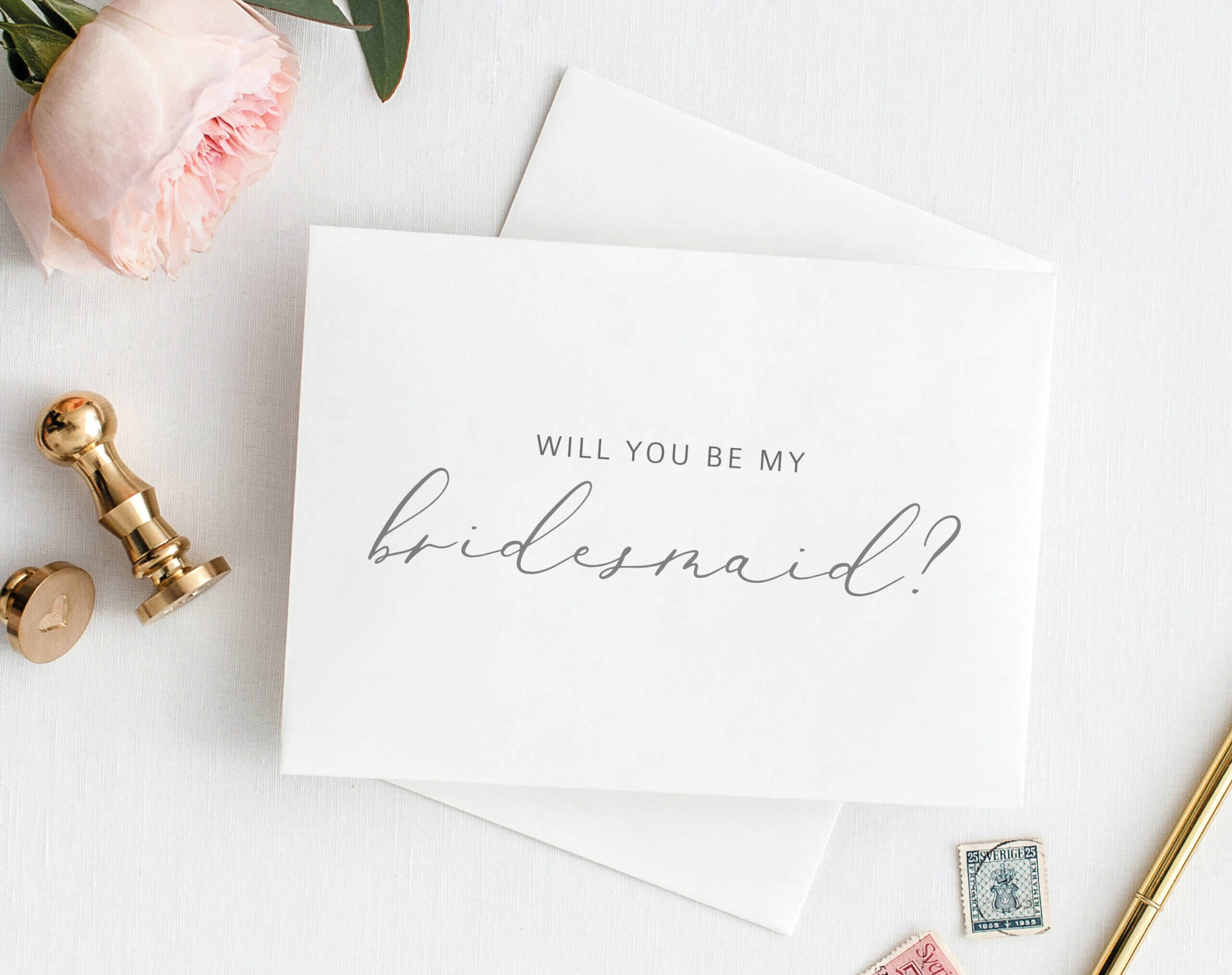 Will You Be My Bridesmaid Card, Printable Bridesmaid Card Inside Will You Be My Bridesmaid Card Template