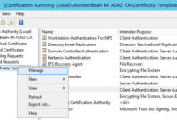 Windows 2012 R2 Nps With Eap-Tls Authentication For Os X in Workstation Authentication Certificate Template