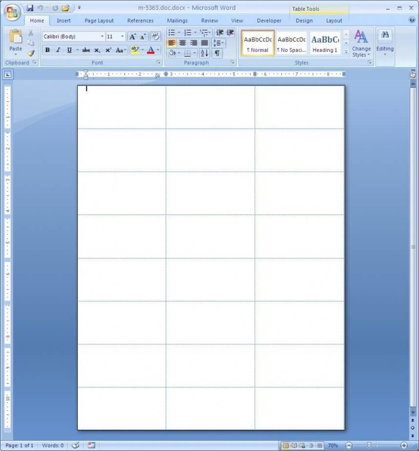 Wonderful Microsoft Word Label Templates 21 Per Sheet Within Label Template 21 Per Sheet Word