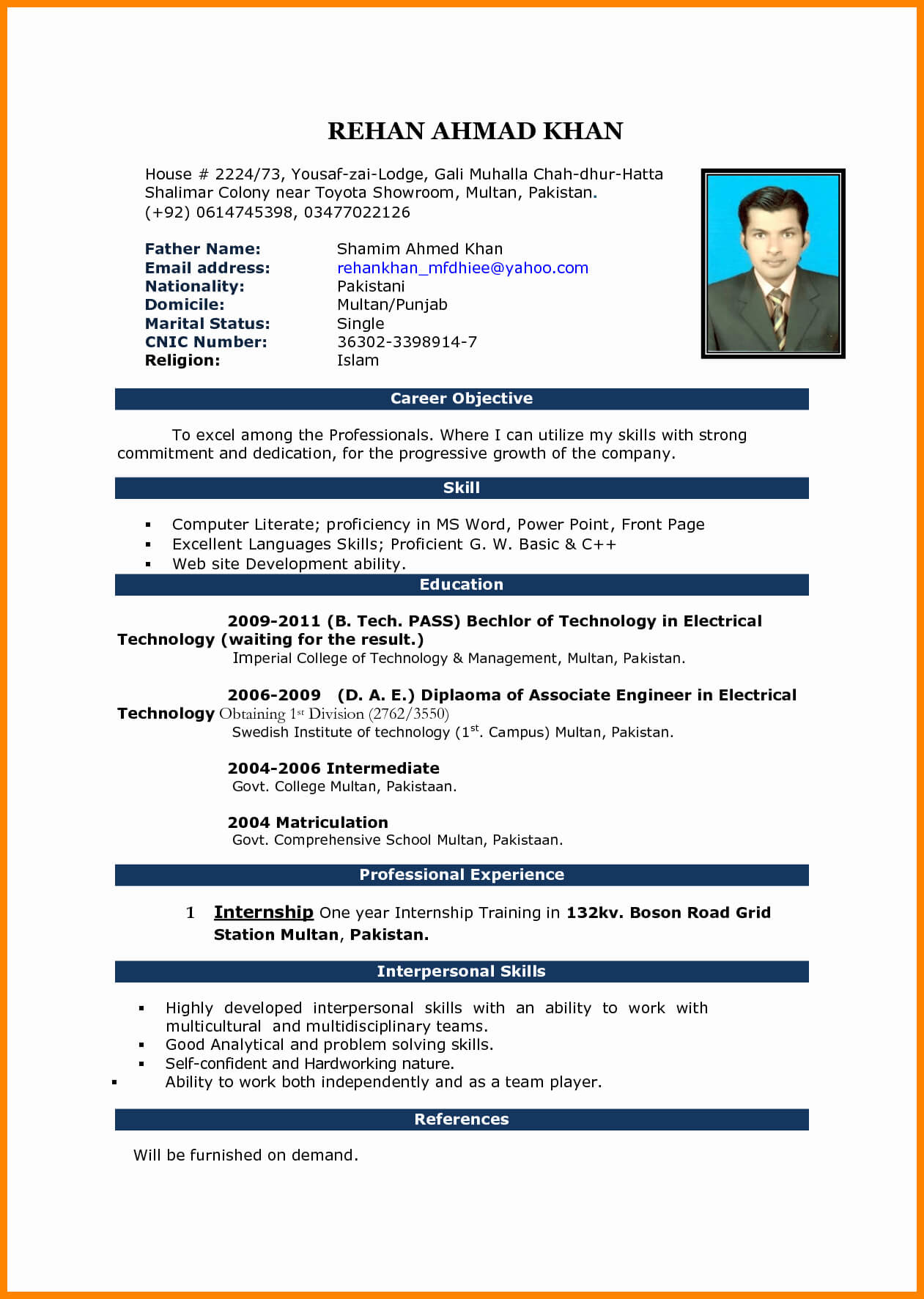 Word Resume Template Free Download Office Templates Cv Inside Resume Templates Word 2010
