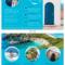 World Travel Tri Fold Brochure within Island Brochure Template