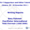 Writing Reports Gary Fishman Pearlfisher International Itu T Throughout Rapporteur Report Template